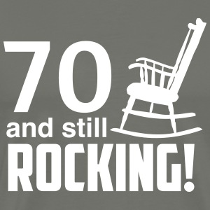 70 and still rocking! T-Shirts - Men's Premium T-Shirt