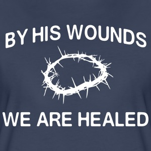 By his hands we are healed T-Shirts - Women's Premium T-Shirt