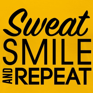 Sweat smile repeat T-Shirts - Women's Premium T-Shirt