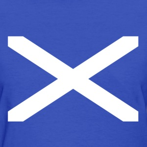 Scottish Flag Women's T-shirt - Women's T-Shirt