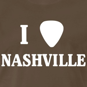 I guitar pick Nashville T-Shirts - Men's Premium T-Shirt