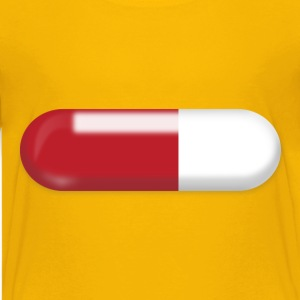 Red and White pill - Kids' Premium T-Shirt