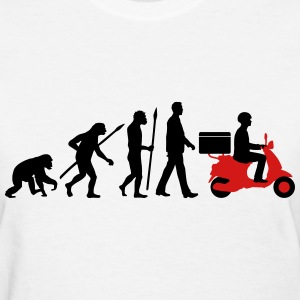 evolution_scooter_pizza_supplier_072016c T-Shirts - Women's T-Shirt