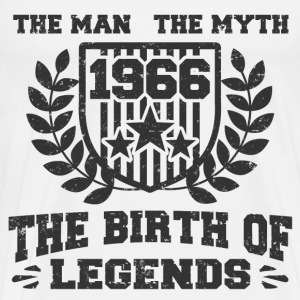 BIRTH 1966 12819812.png T-Shirts - Men's Premium T-Shirt