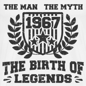 BIRTH LEGENDS 1967 21221.png T-Shirts - Men's Premium T-Shirt