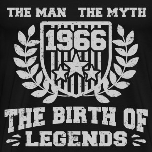 BIRTH 1966 222.png T-Shirts - Men's Premium T-Shirt