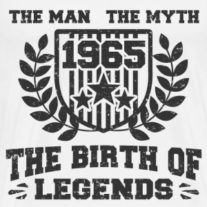 BIRTH 1965 333.png T-Shirts - Men's Premium T-Shirt
