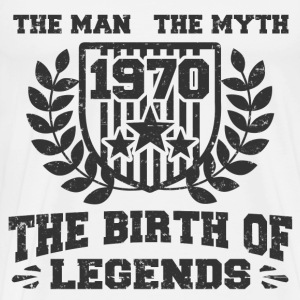 BIRTH 1970 1256152612.png T-Shirts - Men's Premium T-Shirt