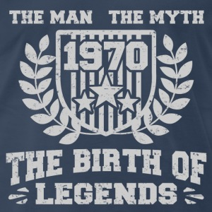 BIRTH 1970 121212.png T-Shirts - Men's Premium T-Shirt