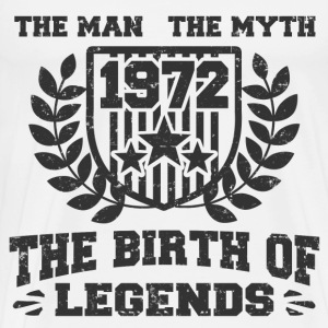 BIRTH 1972 3333.png T-Shirts - Men's Premium T-Shirt