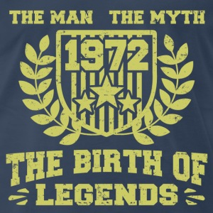 BIRTH 1972 1111.png T-Shirts - Men's Premium T-Shirt