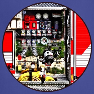 Dials and Hoses on Fire Truck Aprons - Adjustable Apron