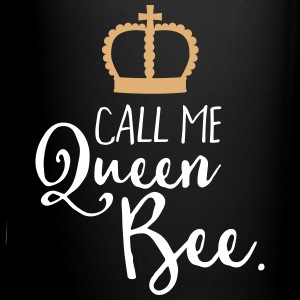 Queen Bee Funny Quote Mugs & Drinkware - Full Color Mug