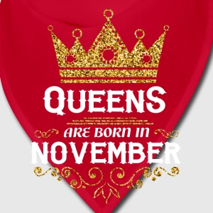 queens are born in november Caps - Bandana