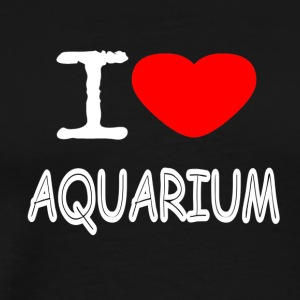 I LOVE AQUARIUM - Men's Premium T-Shirt