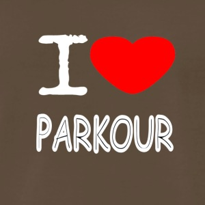 I LOVE PARKOUR - Men's Premium T-Shirt