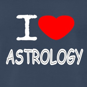I LOVE ASTROLOGY - Men's Premium T-Shirt