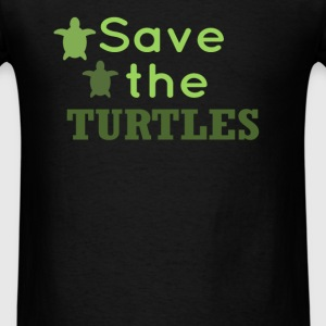 Turtles - Save the Turtles  - Men's T-Shirt