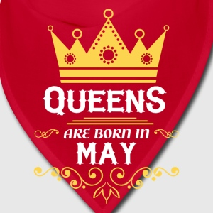 queens are born in may Caps - Bandana
