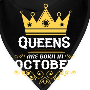 queens are born in october Caps - Bandana