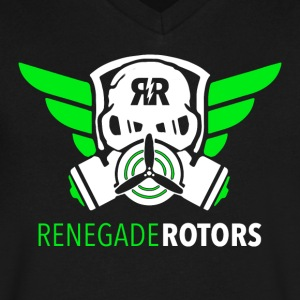Renegade Rotors V - Men's V-Neck T-Shirt by Canvas