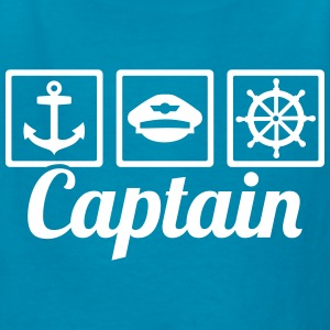 Captain Kids' Shirts - Kids' T-Shirt