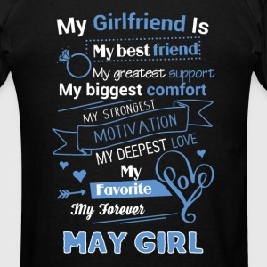 My friend is May girl - Men's T-Shirt