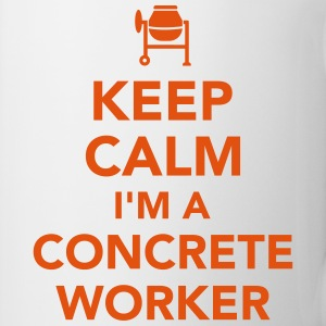 Concrete worker Mugs & Drinkware - Coffee/Tea Mug