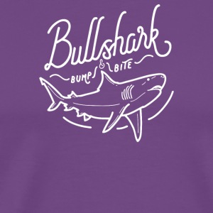 Bullshark Bump And Bite - Men's Premium T-Shirt