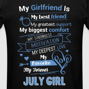 My friend is July girl - Men's T-Shirt