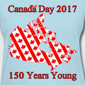 Canada Flags 150 - Women's T-Shirt