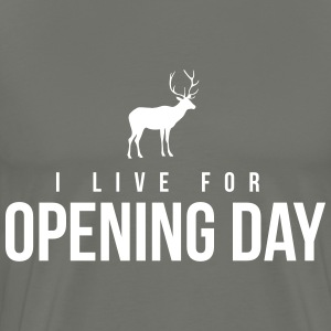 I live for opening day T-Shirts - Men's Premium T-Shirt