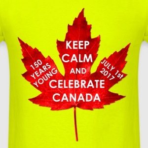 KEEP CALM 150 YEARS CANADA - Men's T-Shirt