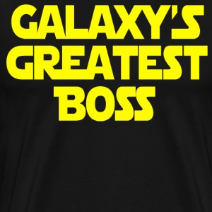 Galaxy's Greatest Boss T-Shirts - Men's Premium T-Shirt