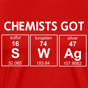 Chemists got swag T-Shirts - Men's Premium T-Shirt