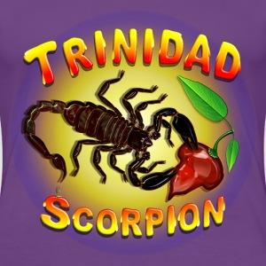 Trinidad Scorpion Black. - Women's Premium T-Shirt