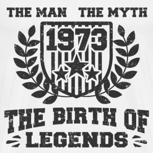 BIRTH 1973 33.png T-Shirts - Men's Premium T-Shirt