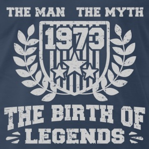 BIRTH 1973 222.png T-Shirts - Men's Premium T-Shirt