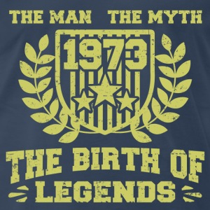 BIRTH 1973 11.png T-Shirts - Men's Premium T-Shirt