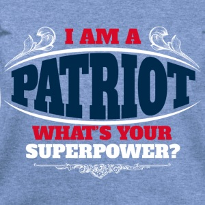 Patriot superpower color Long Sleeve Shirts - Women's Wideneck Sweatshirt