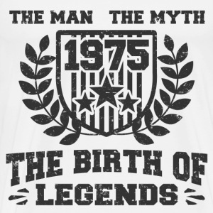 BIRTH 1975 25162512.png T-Shirts - Men's Premium T-Shirt
