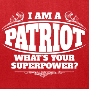Patriot superpower Bags & backpacks - Tote Bag
