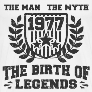 BIRTH 1977 333.png T-Shirts - Men's Premium T-Shirt