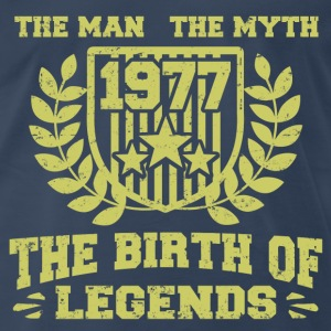 BIRTH 1977 11.png T-Shirts - Men's Premium T-Shirt
