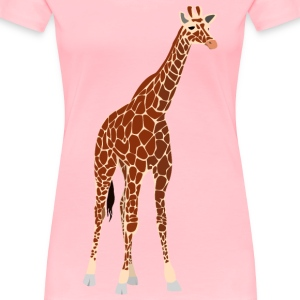another giraffe - Women's Premium T-Shirt