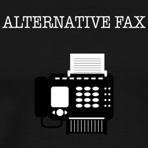 Alternative Fax - Men's Premium T-Shirt