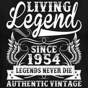 Living Legend Since 1954 Legends Never Die T-Shirts - Men's Premium T-Shirt