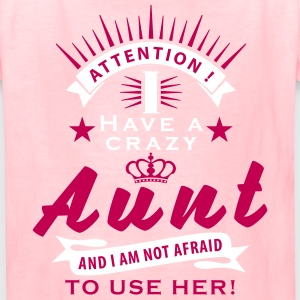 attention_crazy_aunt_01_2017_01_2c Kids' Shirts - Kids' T-Shirt
