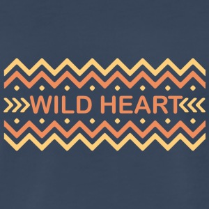 Wild heart - Men's Premium T-Shirt