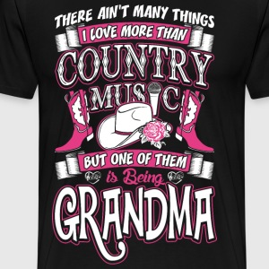 Country Music Grandma T-Shirts - Men's Premium T-Shirt